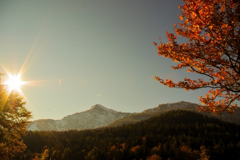 Berchtesgaden Herbst