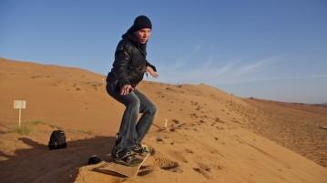 jakob dune surfing
