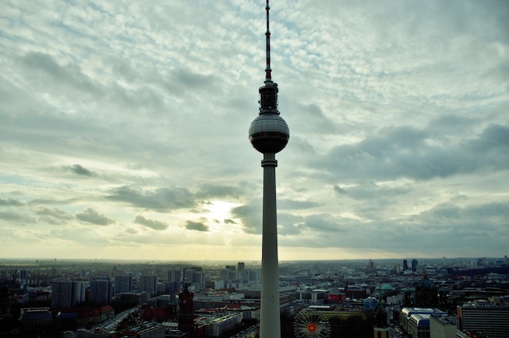 things to do in Berlin - the best view over berlin