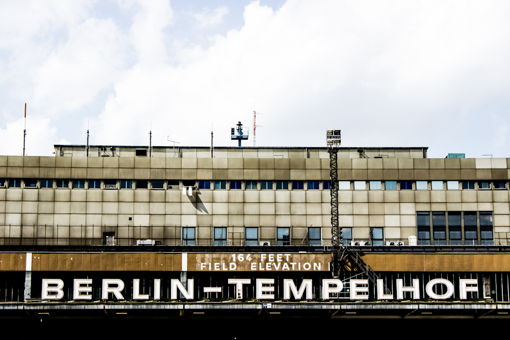 abandoned airport tempelhof outside