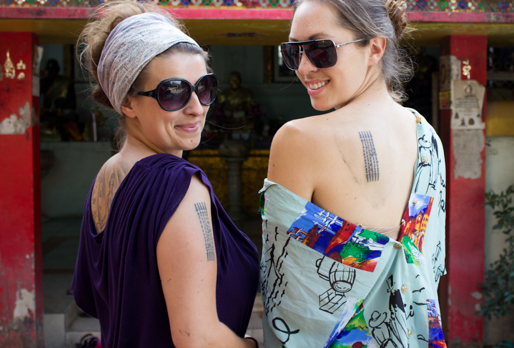 Sak Yant I Got Tattooed And Blessed By A Buddhist Monk