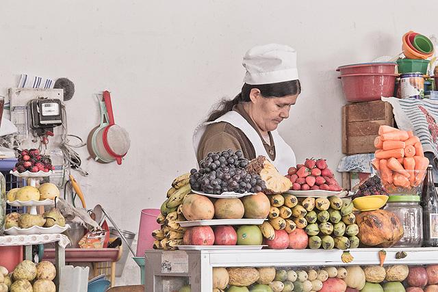 Bolivia Sucre Market