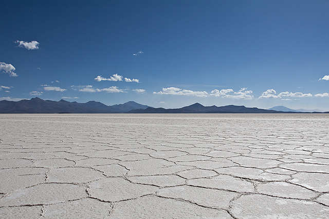 Bolivia Uyuni Salt Structure