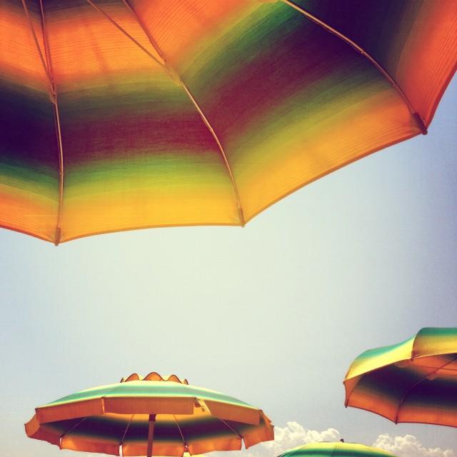 umbrellas rimini