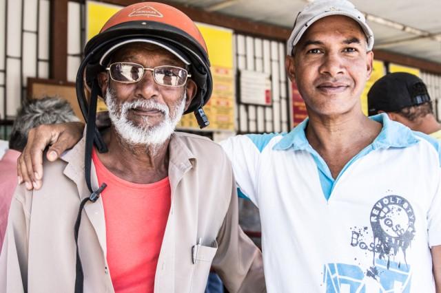 faces of mauritius