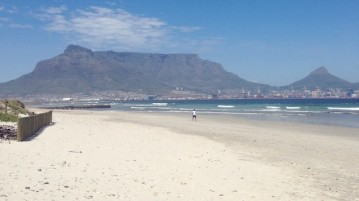 Milnerton beach cape town view