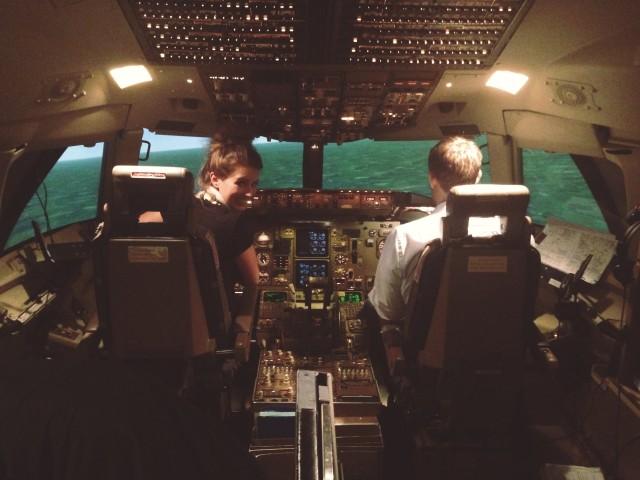 pilot werden condor - flight simulator