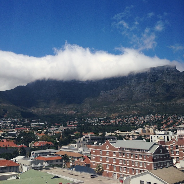 view from Fire and Ice Hotel Cape Town