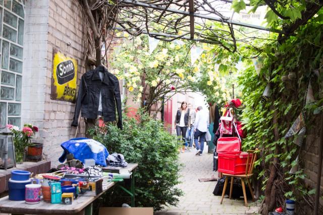 flea market Gostenhof