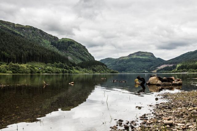 Scotland Loch Lubnig