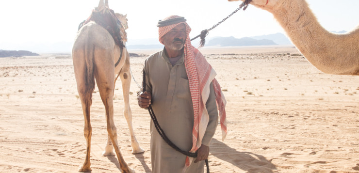 Wadi Rum – On the people you meet in the desert on a Friday