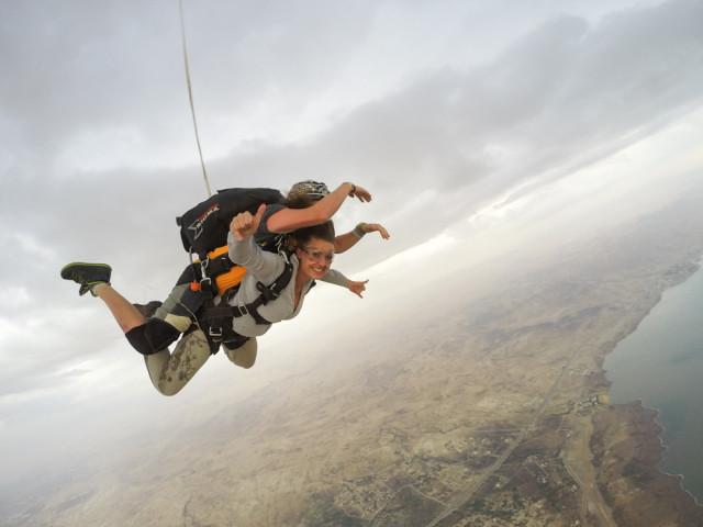 Fallschirmspringen Jordanien