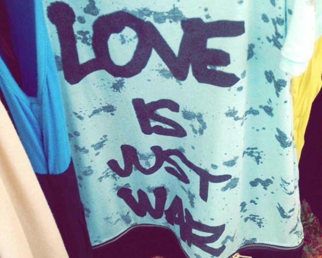 love is just war