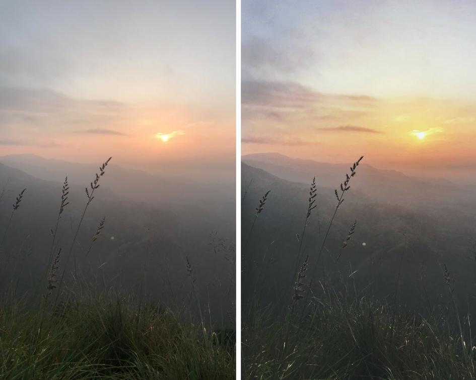 iPhone 7 plus vergleich fotos bearbeitet und unbearbeitet