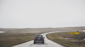 Road Trip to the North Cape with Mercedes
