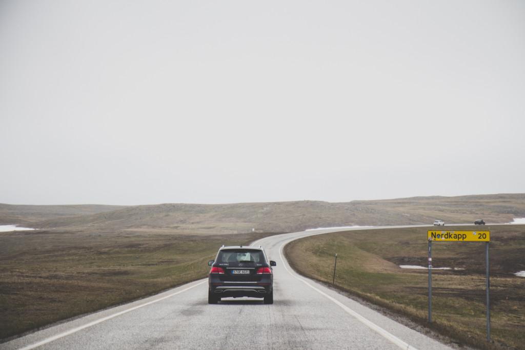straße zum nordkap norwegen