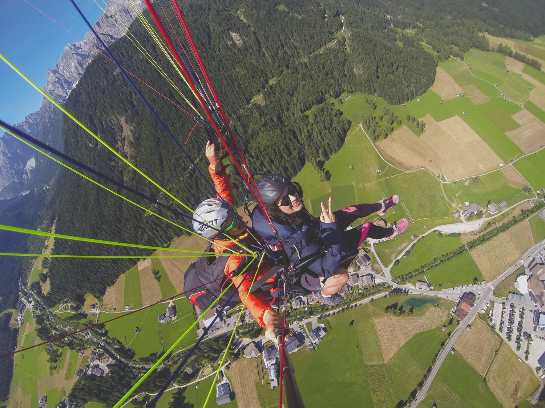 paragliding gleitschirmfliegen suedtirol road trip