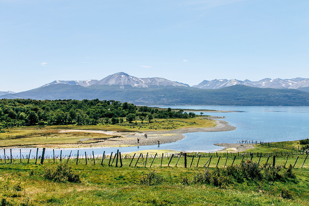Landschaft bei Puerto Williams