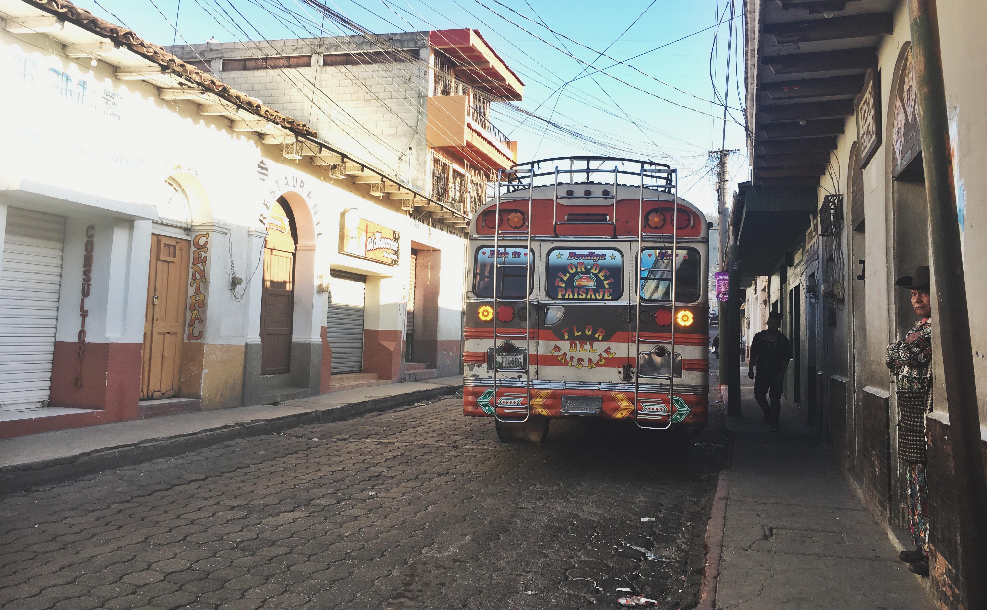 chicken bus guatemala