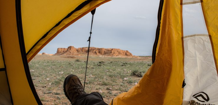 Mongolei Flaming Cliffs